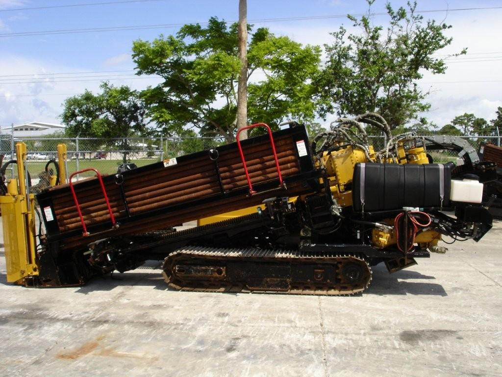 Garner Equipment offers this Vermeer directional boring machine with 500' of drill stem.