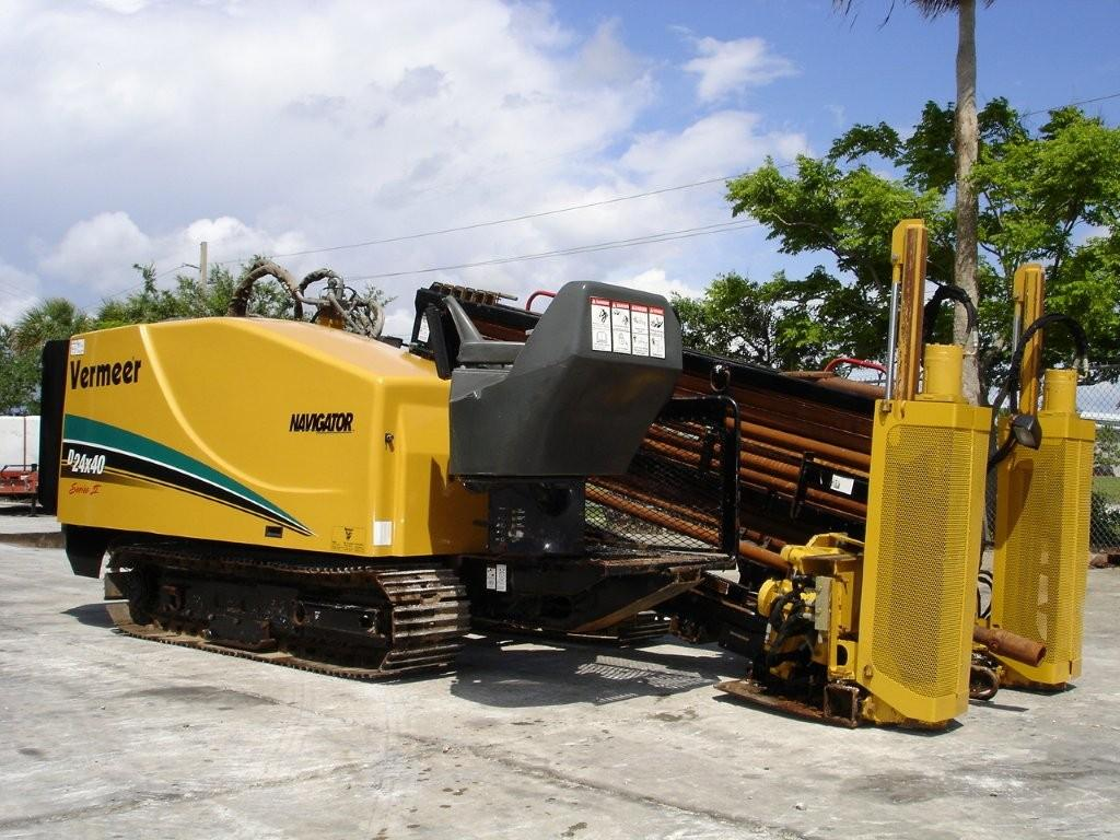 Get this Vermeer Series 2 directional boring machine and other great utility equipment from Garner Equipment!