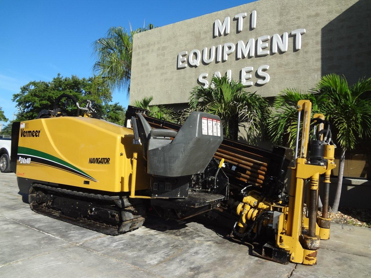 This 2010 Vermeer 24X40 Series 2 directional drill is available from Garner Equipment.