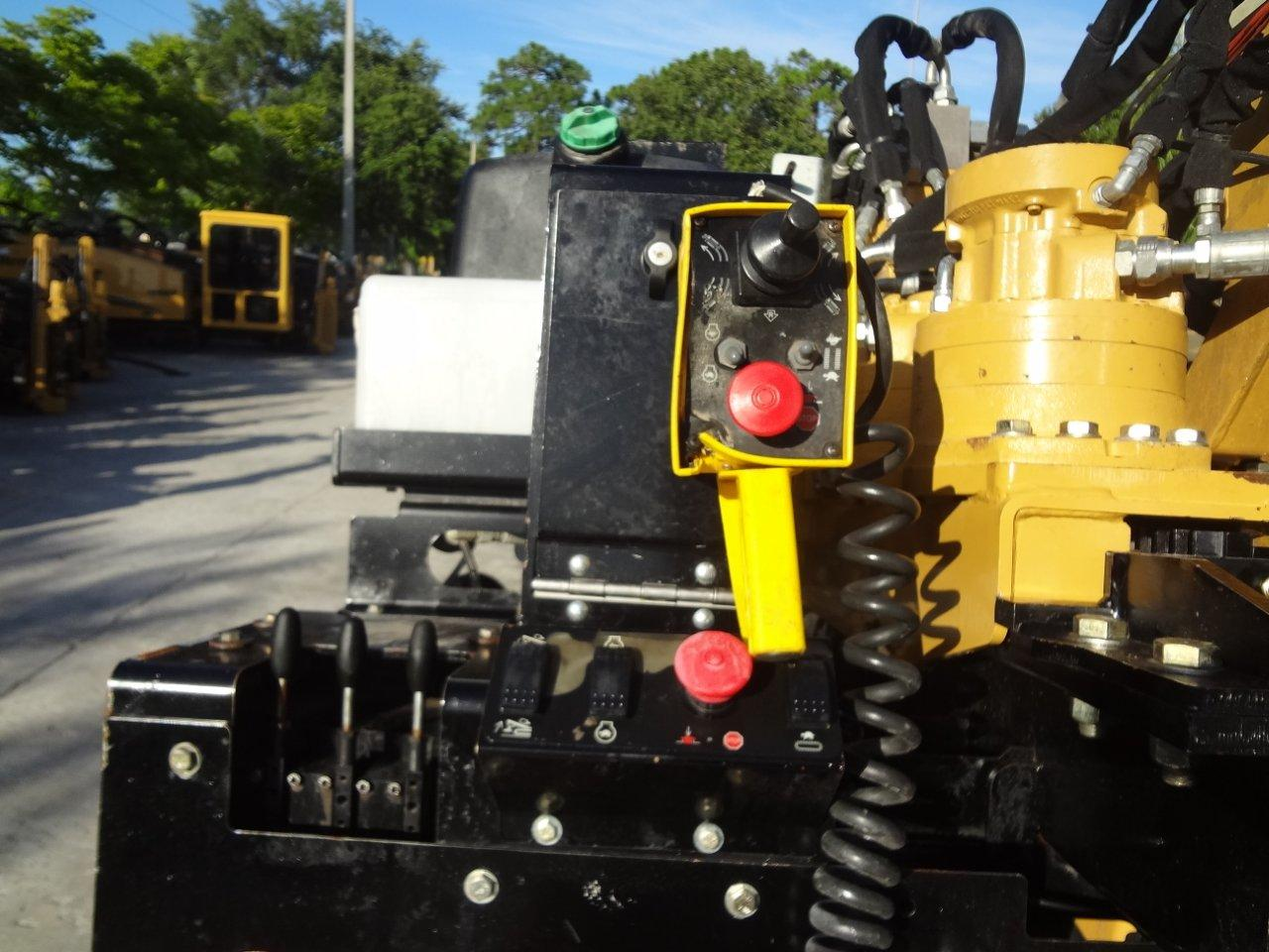 Packed with great features, this 2010 Vermeer directional boring machine has Aplex water pump, rack & pinion, MFD display in dash, and is RATT capable with optional drive pendant included.
