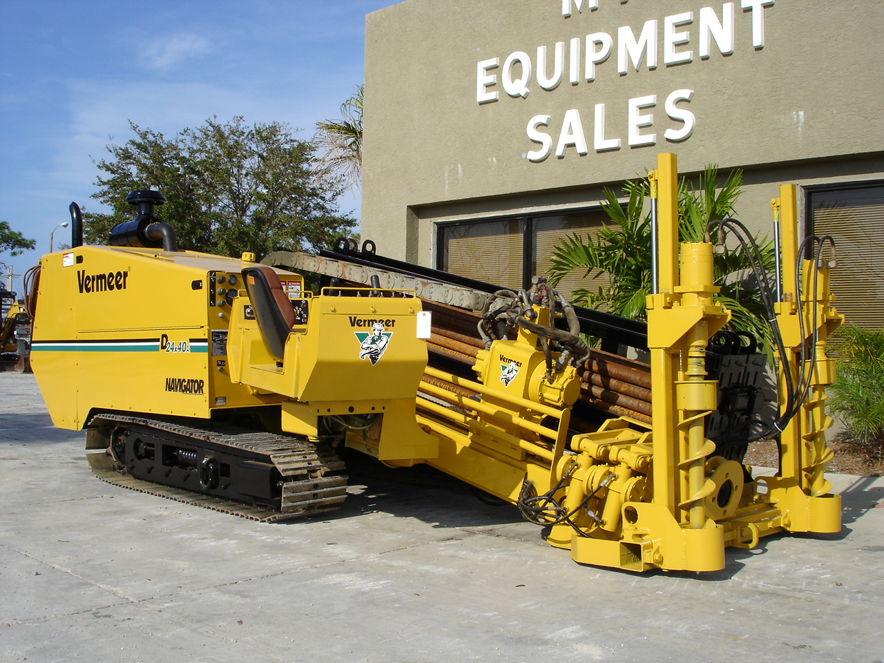 Garner Equipment sells directional drills.