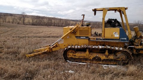 1997 Komatsu w/ Bron Cable Plow in Excellent Condition from Garner Equipment