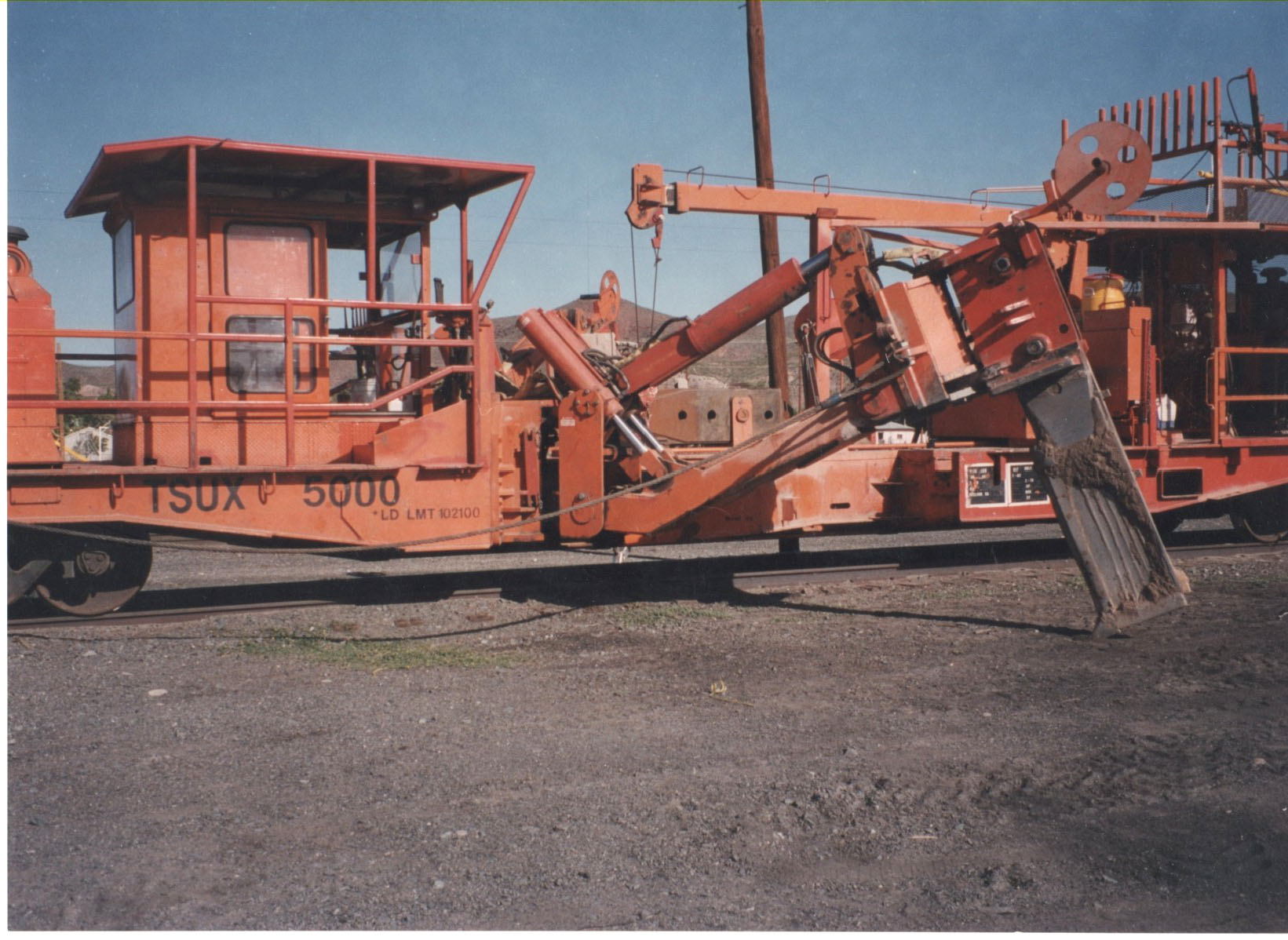 Bron HS-III Rail Cable Plow