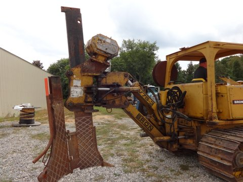 Ready to work: Bron 150 cable plow from Garner Equipment.
