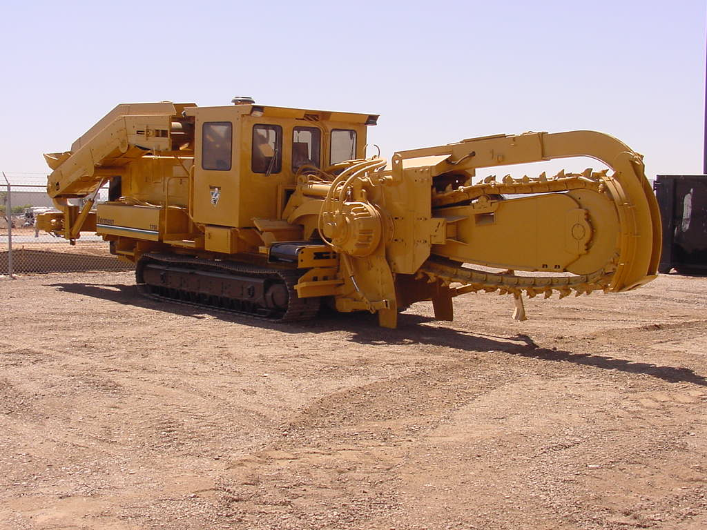 Garner Equipment sells trenchers.